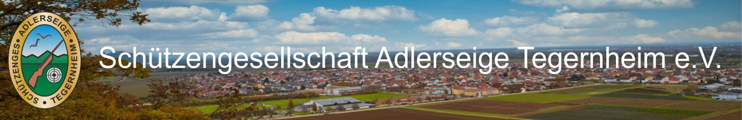 """Schützengesellschaft """"Adlerseige"""" Tegernheim e.V."""